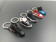 Hot sele keychains supplier,custom high quality AIR JORDAN BRAND keychain for Christmas gifts