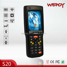 Hot selling high speed 2.5m drop IP65 Wi-Fi WCDMA Bluetooth carman auto scanner