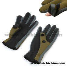 Top quality wholesale neoprene fishing gloves fly fishing glove