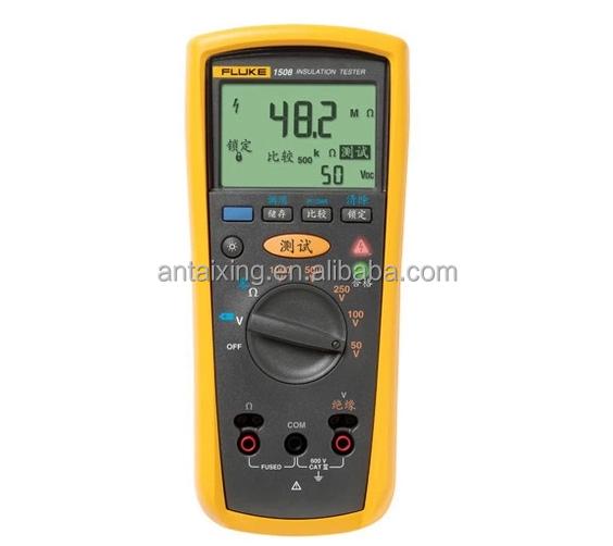 Fluke Megger Meter : Fluke megger insulation resistance tester test