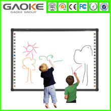 School IR finger touch white board whiteboard with 4 fingers writing support marker pen dry erase