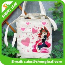 OEM Production Custom Cotton plain white cotton canvas tote bag