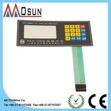 custom-made control panel membrane switch keypad carbon pills
