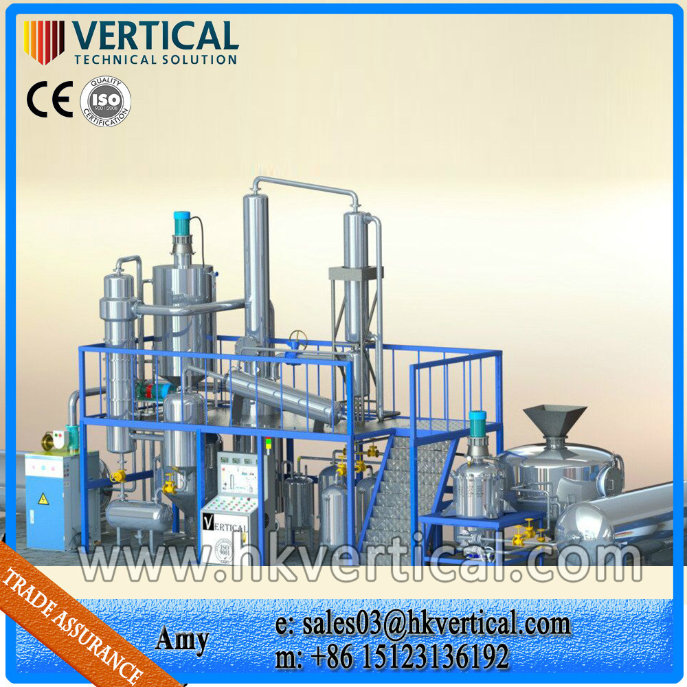 Vts dp used motor oil distillation machine used cooking for Used motor oil recycling equipment
