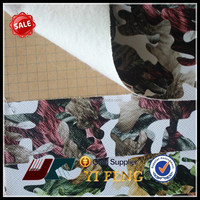 pu printing faux leather