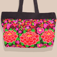2014 fashion bags for ladies canvas ethnic embroidery woman shoulder bags