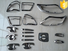 TOYOTA FORTUNER 2012- Toyota SUV full chromed kit accessories auto car NEW CHROME ACCESSORIES best selling car accessories