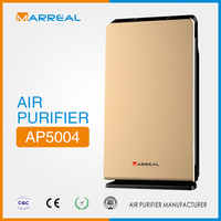 Electrical power source portable air filter air purifier with office room