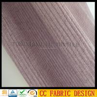 Velboa sofa fabric /Printed knit brush fabric for sofa /Stripe pattern fabric for sofa