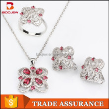 china manufacturer blue gemstone african animal and women sex image silver jewelry set