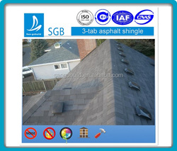 Villa Asphalt Shingle Roofing Factory - Types and Colors