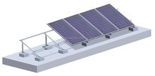 PV Solar Mountings Systems for Flat Rooftop