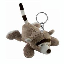 Nice design Stuffed keychain toy, plush teddy bear doll keychain, plush toy animal keychain key chain key ring key fobs