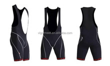 Men Summer Cycling Bib Short with Silicone Pad Breathable fabric high Quality
