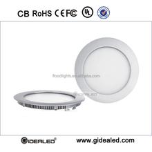 100-240v dimention 120mm 6w round led panel light for house