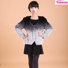 2014 Fashion Style Knitted Mink Fur vest / Popular fur vest