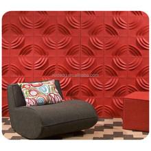 Innovative lightweight building materials insulated 3d decor panel wall