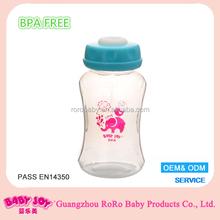 large plastic breast milk storage containers