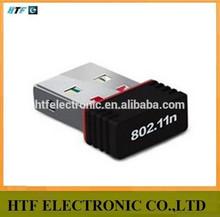 Alta velocidad OEM / ODM 150 M antena interna 1T1R wifi NANO external tarjeta de red
