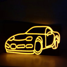 china neon sign for car shop decoration
