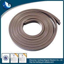 Double-sided adhesive rubber magnetic stripe