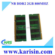Laptop ddr2 2gb ram 800mhz notebook memory