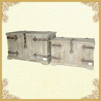 French country style handmade large wooden bin storage(YF211)