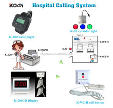 Panic button elderly for oldaged home with wrist watch and nurse call cord and corridor light
