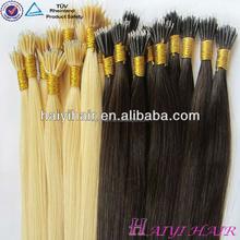 Remy Fusion High Quality Real Hair Cheap Asian Nano Hair