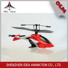 Venta de Modelo de helicóptero de control remoto de aleación con proporción de 1:100 con precio de fábrica