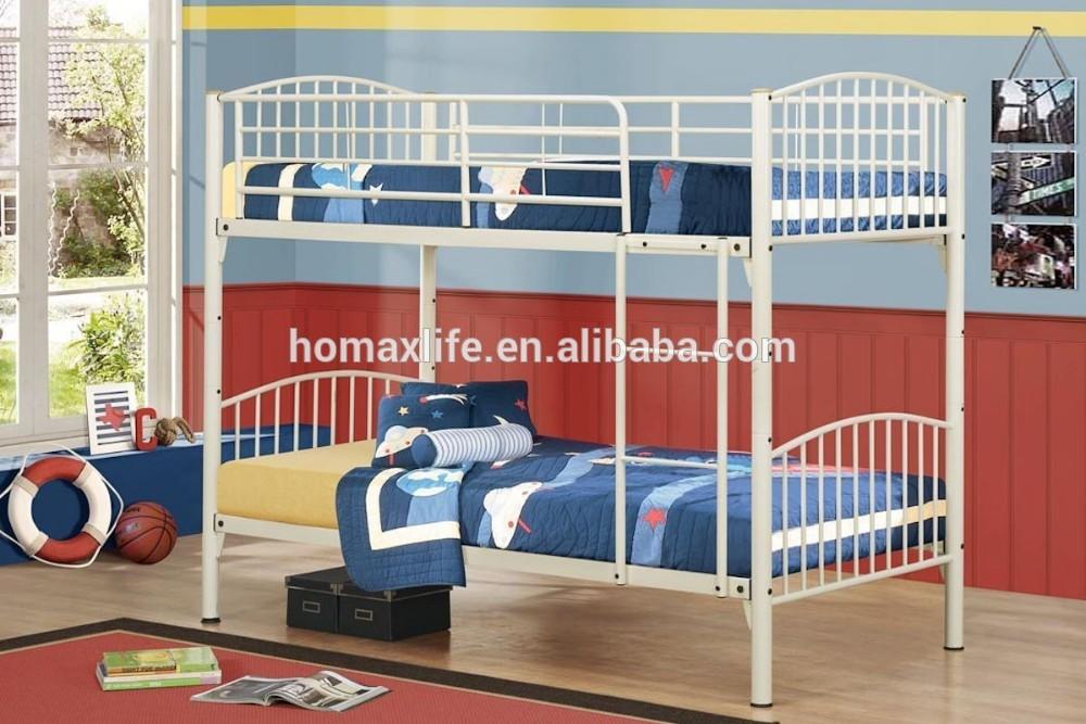 Forjado moderna dos pisos cama litera de metal db 4718 - Camas literas modernas ...