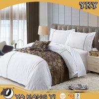Cheap Price China Factory King Size Satin Hotel Bedding Set