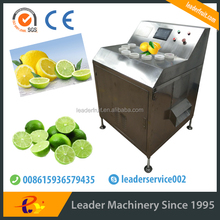 Líder cortador de limão e slicer máquina com bela peça