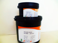 liqued photoimageable medium green solder mask pcb ink
