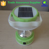2015 new product hand lamp led with solar panle on top