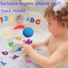 Wholesale 100% food grade silicone baby bath toy