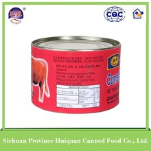Hot selling 2015 types canned food products beef luncheon meat