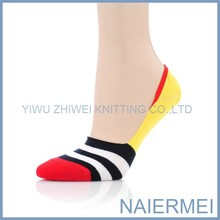 Novelty socks wholesale boat striped socks