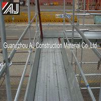 Galvanised Steel Scaffolding Toe Board to Prevent Falling Objects