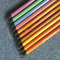 PVC coated wood broom handle for household/garden