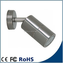 stainless steel color aluminum wall lighting outdoor
