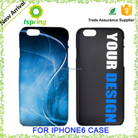 2015 hard plastic cell phone cases, customise phone cover for iphone 6 plastic case