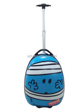Children travel plastic trolley hard case for luggage bags