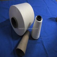 surplus stock raw slub combed 100% cotton yarn