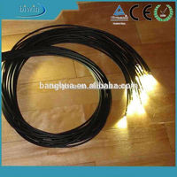 Waterproof Fiber Optic Cable Lighting For Spot Lighting