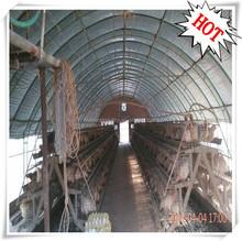power-saving semi automatic / manual galvanized battary cage layer units (factory price)