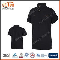 2015 functional fabric dry rapidly fit wicking UPF 50+ UV golf shirt