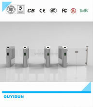 Hot selling remote control wing barrier gate with ticketing system