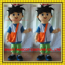 Human size light weight Diego mascot costume from Dora the explorer adult Diego mascot costume