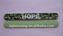 cheap custom silicone slap bracelet wholesale,reflective slap band,silicone slap wristband